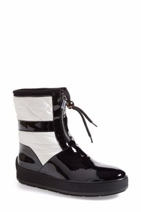 Aquatalia by Marvin K. Kali Mid Boot Black, white Boots