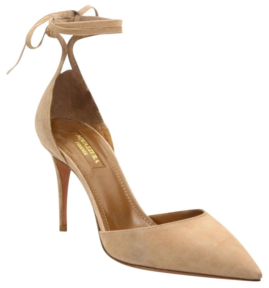 popular cheap price Aquazzura Heart Breaker Suede Pumps w/ Tags clearance store for sale sale low price cheap pay with visa hlSTdG0d