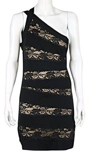 Arden B. B Womens Black Dress