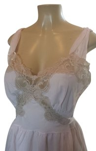 aristocraft 60'S Vintage Aristocraft PINK SHEER nightgown/ SIZE 38/LARGE