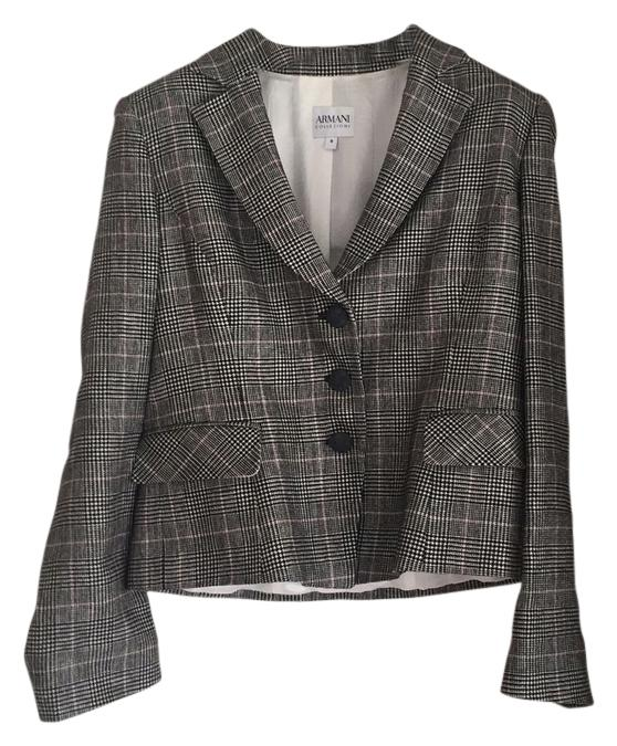 Armani Colleczioni Plaid Is In