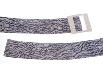 Armani Collezioni Accessories,womens,ac_belt_yaw033/yd229_blkwhite_50