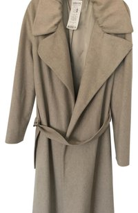 Armani Collezioni Wrap Designer Winter Gift Trench Coat