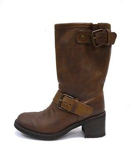 Ash Nwd Leather Dream Engineer 180758pk brown Boots