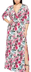 multi Maxi Dress by ASOS Floral Wrap