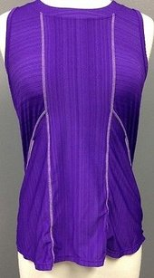 Athleta Athleta Purple Polyester Spandex Sleeveless Athletic Tank Top Sma 8218