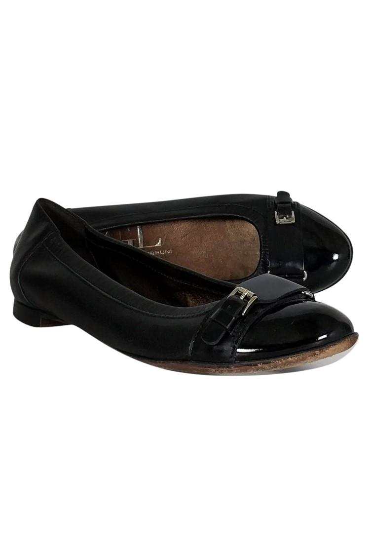 Nero Nero Nero Attilio Giusti Leombruni Flats Up to 90% off at Tradesy 7e33d8