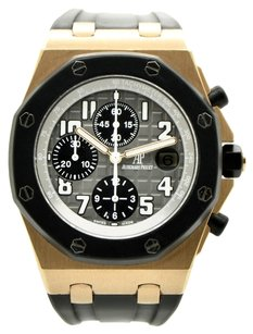 Audemars Piguet Audemars Piguet 18K Pink Gold Royal Oak Offshore Chronograph / W Box & Papers