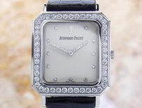Audemars Piguet Audemars Piguet Luxury 18k White Gold Swiss Made Mens Diamond Dress Watch G24