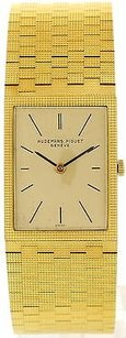 Audemars Piguet Mens Vintage Audemars Piguet 18k Yellow Gold Watch