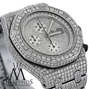 Audemars Piguet Diamonds Audemars Piguet Royal Oak Offshore Watch Diamond Dial Case Bracelet