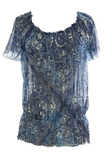 August Silk Womens Augustsilk_117291_v2_bluecmb_m Top