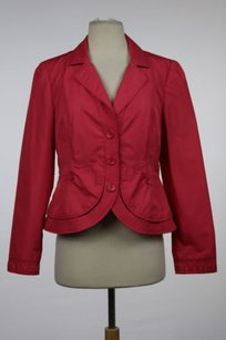 A|X Armani Exchange Armani Collezioni Womens Pink Blazer Casual Jacket Outer Wear Long Sleeve