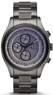 A|X Armani Exchange Armani Exchange Gunmetal Chronograph Mens Watch Ax1606