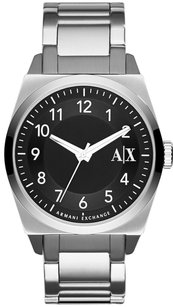 A|X Armani Exchange Black Dial Stainless Steel Men's Watch ax2300
