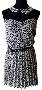 B. Darlin short dress Black/White Butterfly on Tradesy