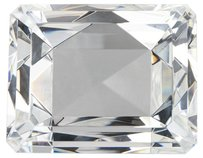 Badash Badash Crystal Cushion Cut Paper Weight.