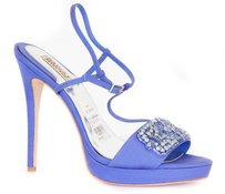 Badgley Mischka Amara Blue Sandals