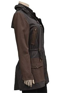 Bagatelle Sueded Cotton Brown Jacket