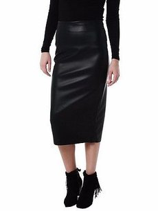 Bailey 44 Faux Leather Pencil 0 220673e Skirt Black