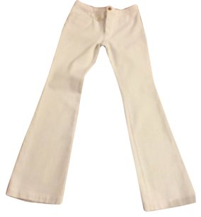 Balenciaga Denim White Boot Cut Jeans