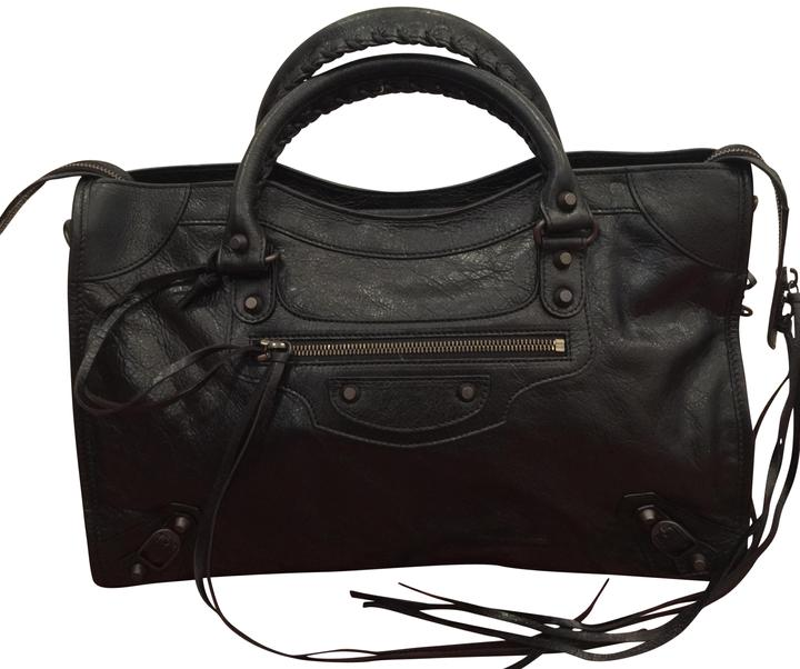 S Black Body Classic Bag Leather City Cross Balenciaga tRpvqwEt