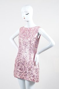 Balenciaga short dress Pink Metallic on Tradesy