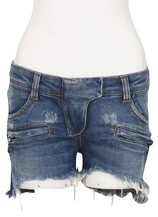 Balmain Mini/Short Shorts Blue