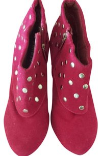 Bamboo Trading Company pink Boots