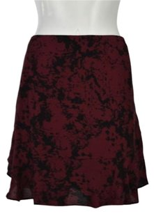 Banana Republic Womens Skirt Red