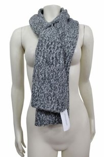 Banana Republic Banana Republic Knit Pull Through Scarf Grey Combo One
