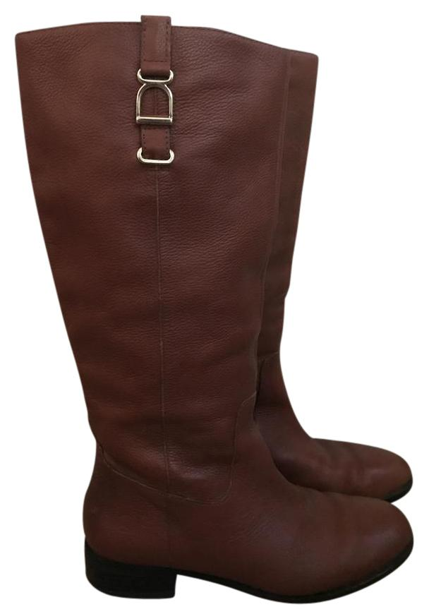 Banana Republic Brown Leather Riding Boots/Booties Size US 8.5 (M, Regular (M, 8.5 B) 92b725