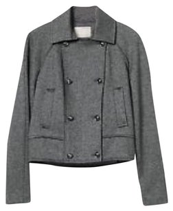 Banana Republic Heritage Collection Moto Cropped Wool Military Jacket