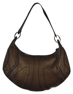 Banana Republic Womens Leather Handbag Shoulder Bag