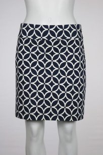 Banana Republic Womens Navy Skirt Navy, White