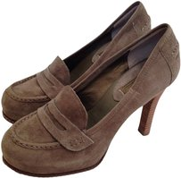 Banana Republic Suede Olive Pumps
