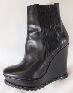Barbara Bui 37 Ankle Black Gdl Boots