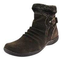 Bare Traps Womens Suede brown Boots