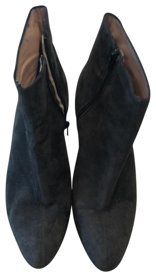e4a54cd2d40 Barneys New York Dark Grey Grey Grey Suede Boots Booties Size EU 39  (Approx. Nina Black Saida Sandals Size US 9 Regular ...