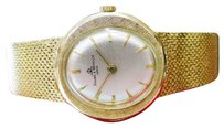 Baume & Mercier Ladies Baume Mercier 14k Yellow Gold Ellipse Dress Watch