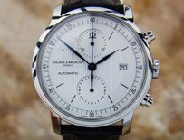 Baume & Mercier Baume Mercier Men Classima Chronograph Swiss Made Watch Box Papers 2015 N7