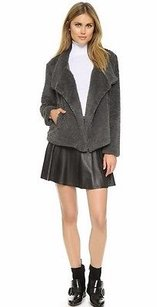 BB Dakota Soft Faux Fur Grey Jacket