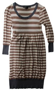 BCBGMAXAZRIA Bcbg Max Azria Brown Cream Dress