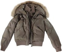 BCBGMAXAZRIA Azria Bcbg Brown Jacket Hs Coat