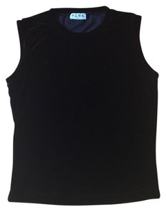 BCBG Paris Top Black Velvet