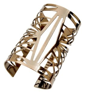 BCBGeneration BCBGeneration Open Cut Cuff Bracelet Antique Gold