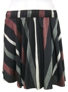BCBGeneration Light Wine Skirt Multi-Color