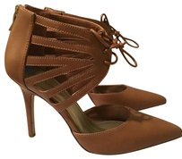BCBGeneration Lace-up Toffee Pumps