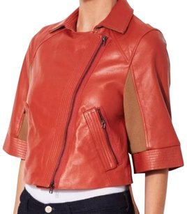 BCBGMAXAZRIA Bcbg Runway Frankie BURNT ORANGE Jacket
