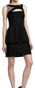 BCBGMAXAZRIA Bcbg Woven Lace-up Dress